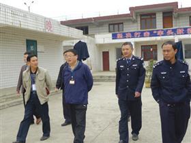 省检察院监所处督导组前往修文县进行专项督导