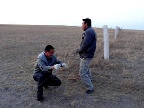图牧吉镇居民参与鸟类保护工作