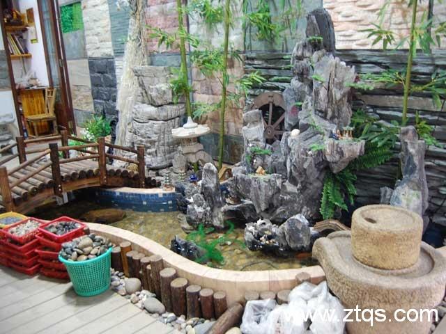 假山喷泉设计与施工