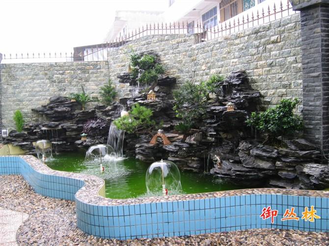 假山喷泉设计与施工图片