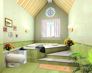 洗手间装修效果图 洗手间装修图片 家装卫生间效果图 卫生高清图片