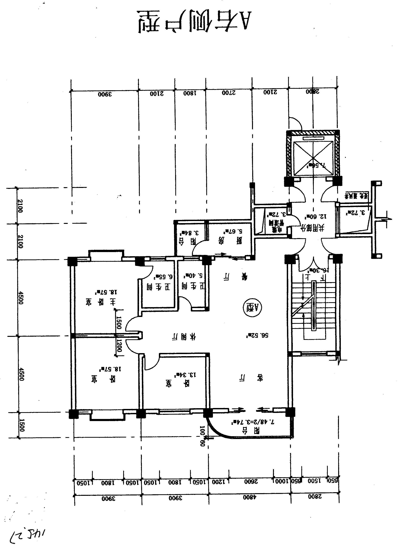 120房农村住房平面设计图