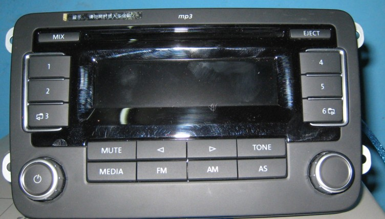 大众原车cd_大众6碟cd碟盒接线图