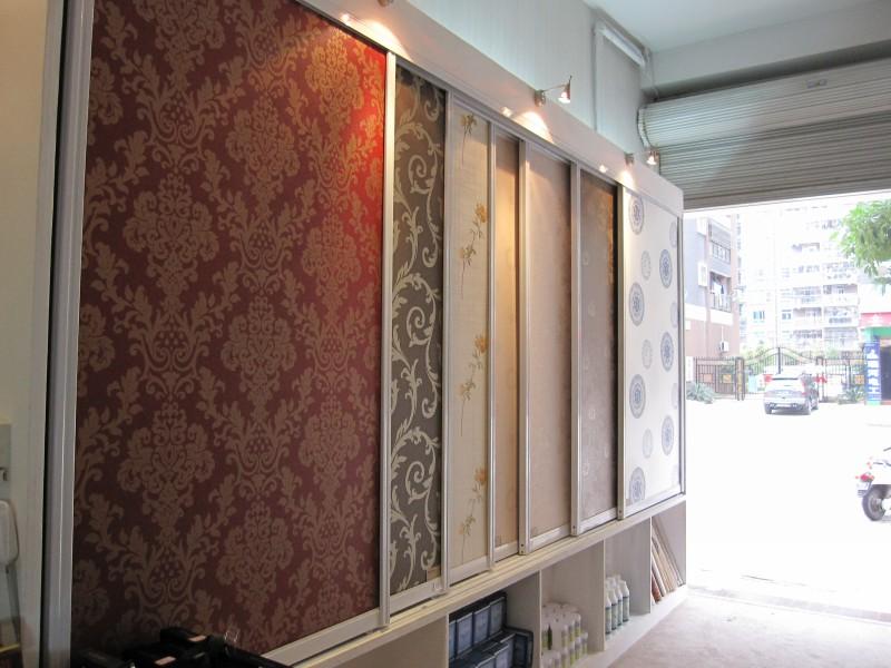 电视墙纸装修效果图_图片素材