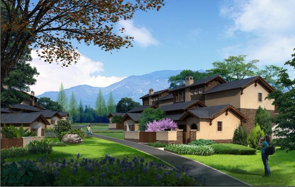 旅游度假区 经济型小别墅