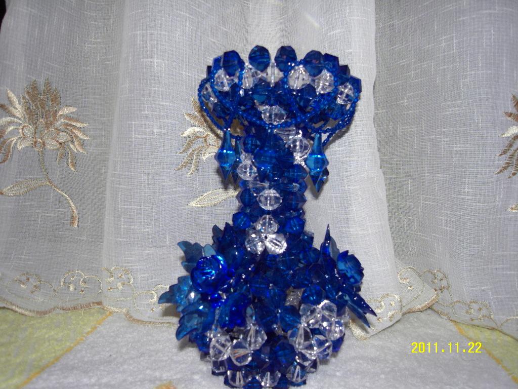 蓝色优雅(装饰花瓶)