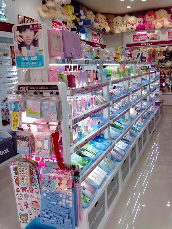 美爆の潮品店 成为备受中国女孩推崇的美妆潮