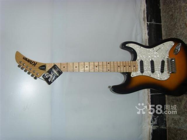 急转吉普森克莱默电吉他和效果器