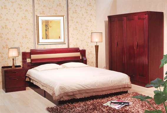 木床卧室设计图图片