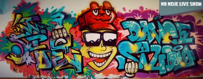 邯郸涂鸦 邯郸创意手绘墙 承接工程涂鸦手绘墙