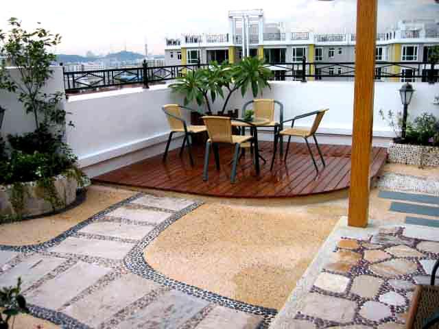 楼顶花园 屋顶花园 山体绿化 墙面绿化 国内有专业的园林绿化公司吗?