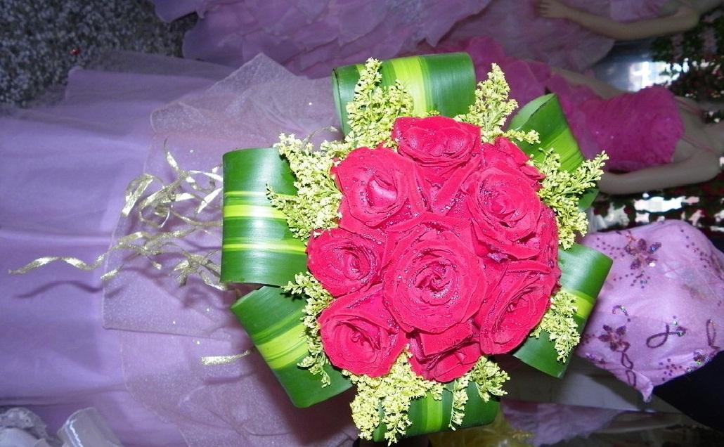 鲜花,手捧花