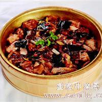 铜盆水鱼蒸鸡