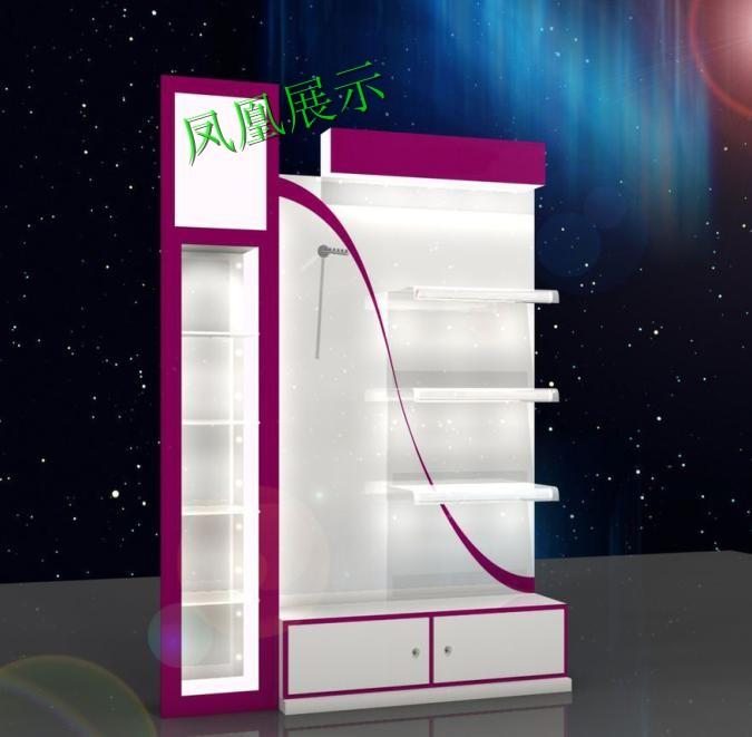 化妆品背柜设计制作