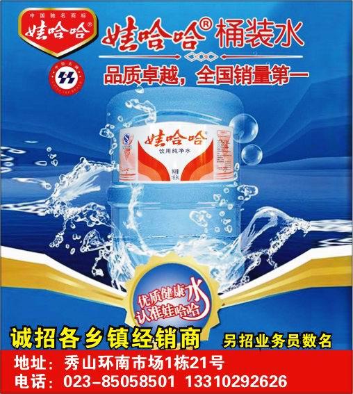 公司名称:娃哈哈桶装水秀山店