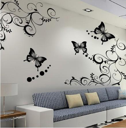 低价设计制作墙贴画