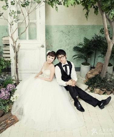 新娘婚纱照风格_2015韩式新娘婚纱照 韩意