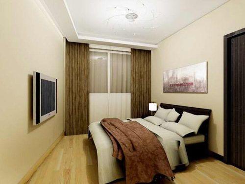 现代简约时尚卧室装修效果