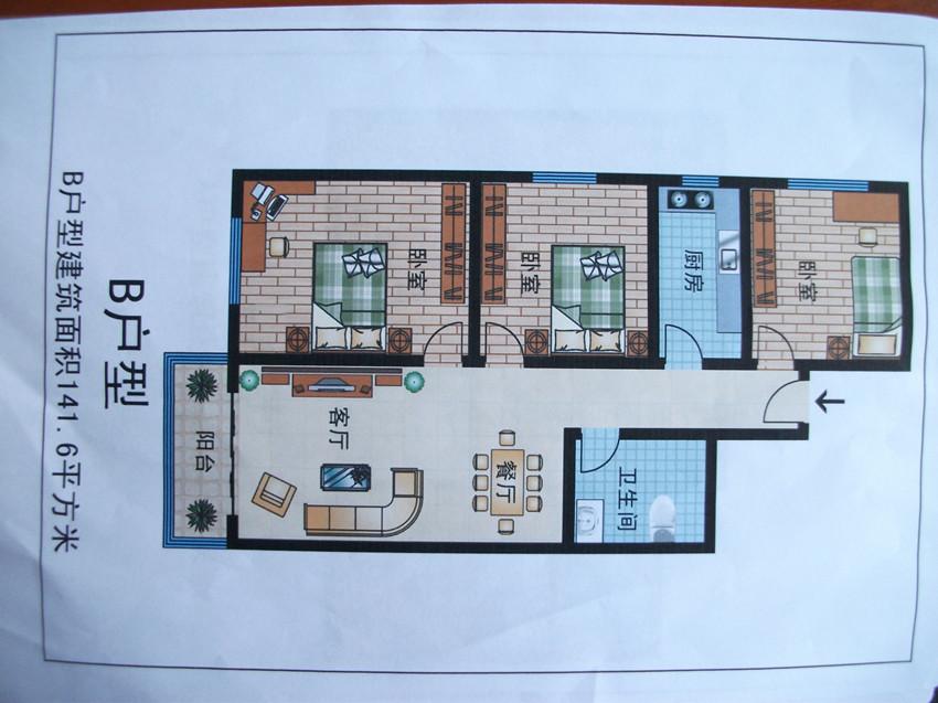農村套房平面設計圖