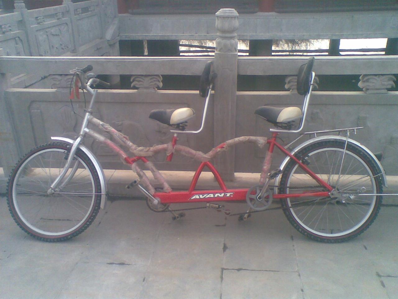 双人三人自行车