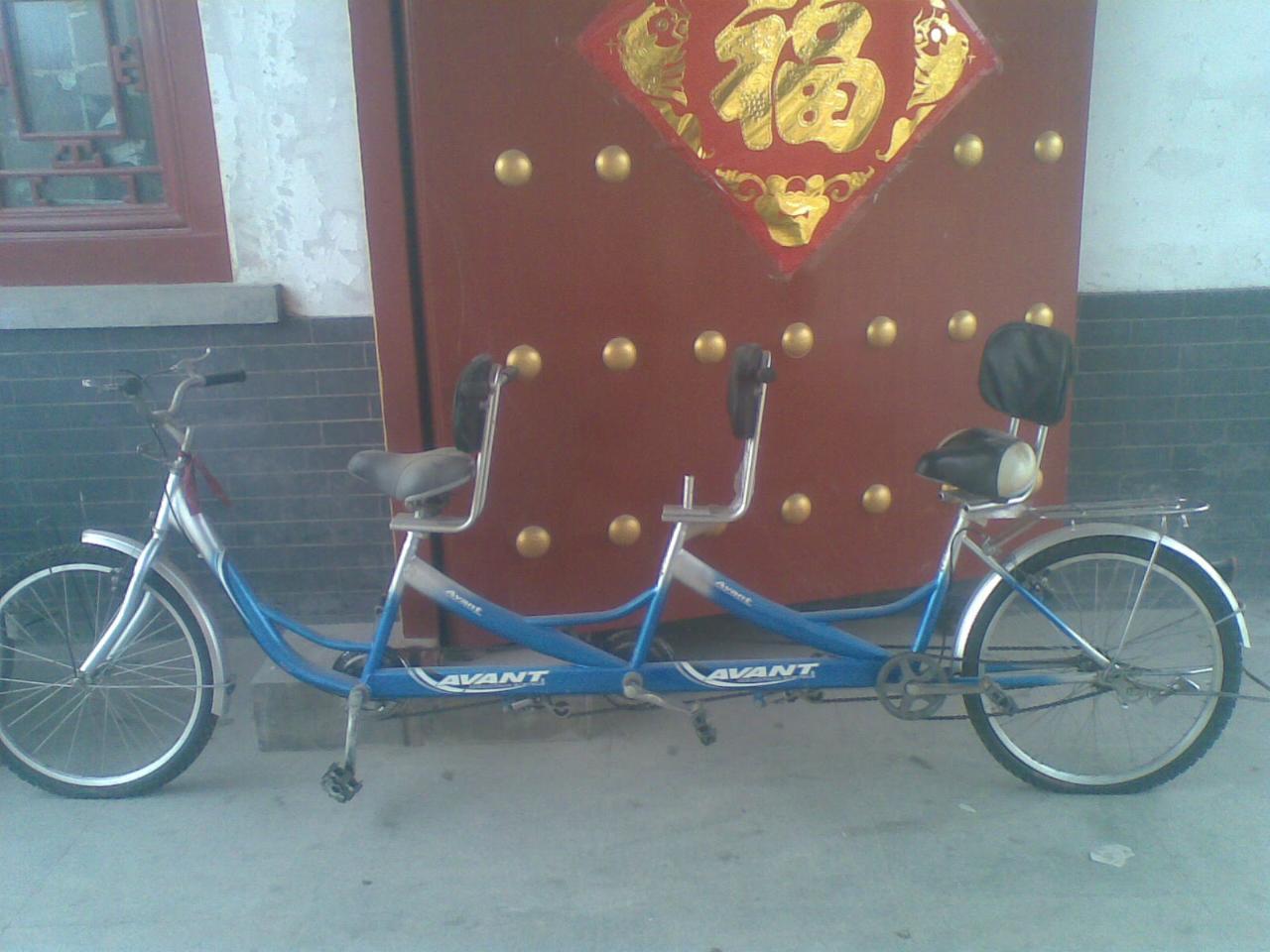 sanren自行车简笔画