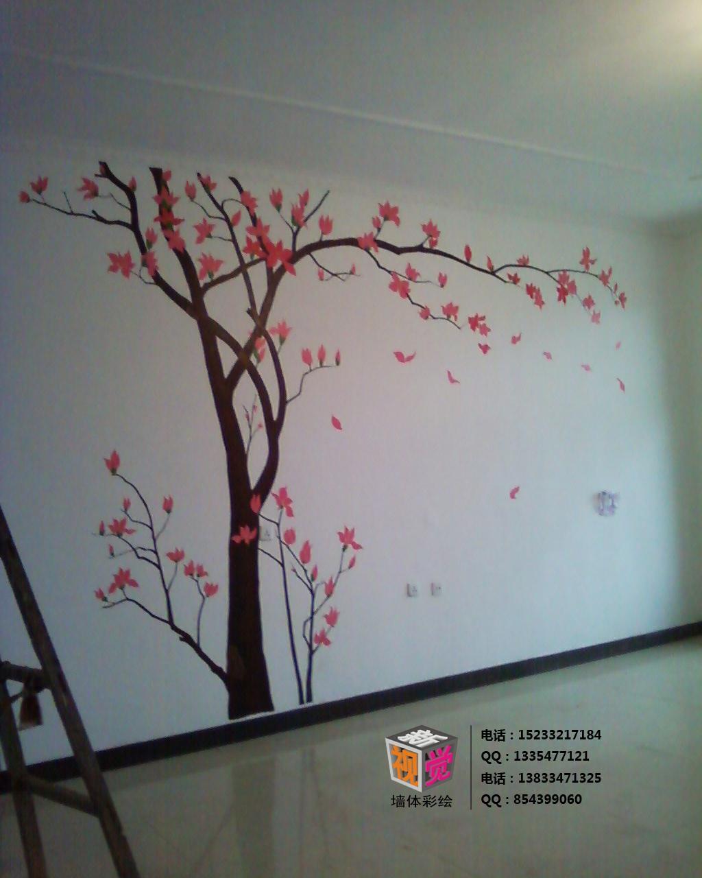新视觉墙体彩绘