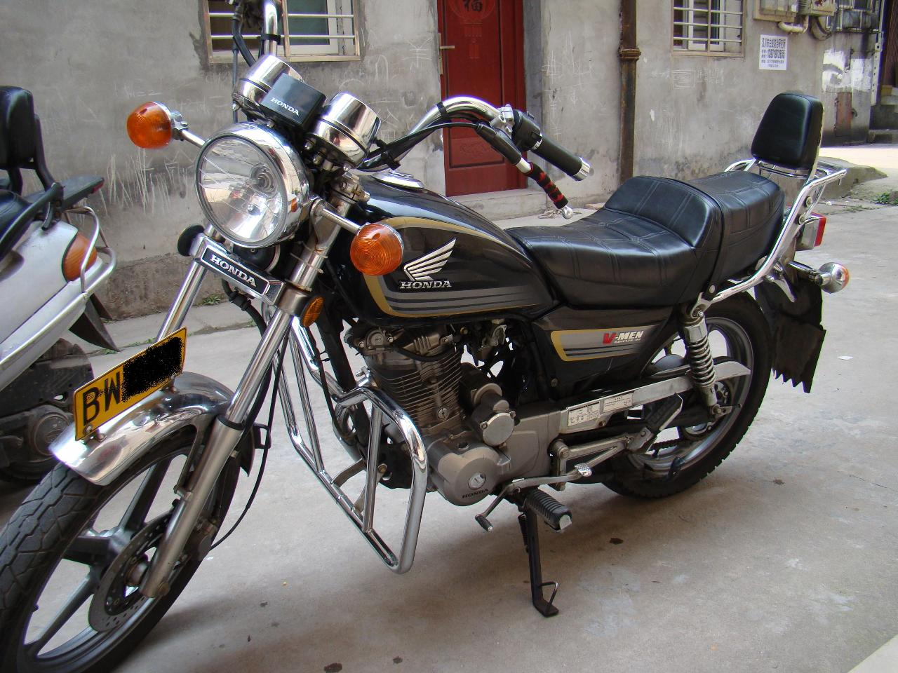 太子摩托车_本田cm125cm太子摩托车原装配件