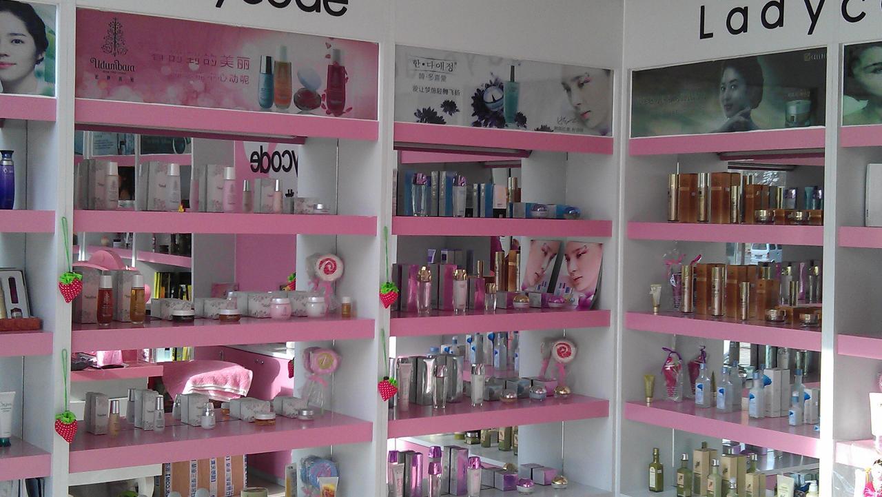 小型美妆店装修图片