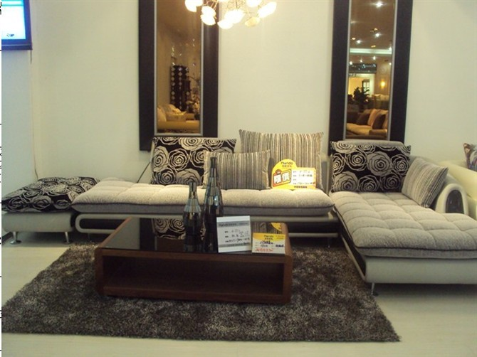 浪度布衣沙发图片; 浪度沙发价格图片;