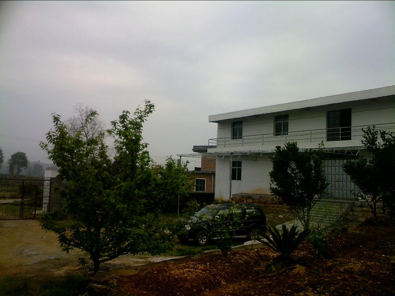 农村房屋设计图大全 两层 独院 车库