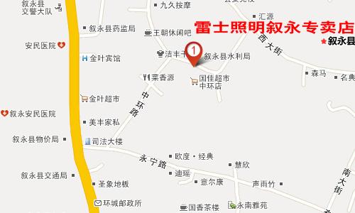 四川叙永县地图