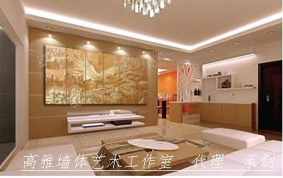 3d立体浮雕电视背景墙
