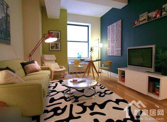 12客厅装修效果图欣赏,简约实用小户型客厅装修家装设计图片