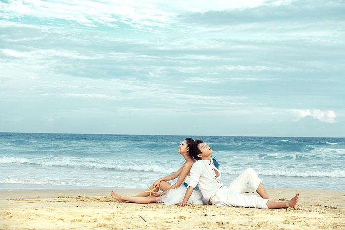 海边婚纱照-海边拍婚纱照,海边拍照pose大全图片,三亚