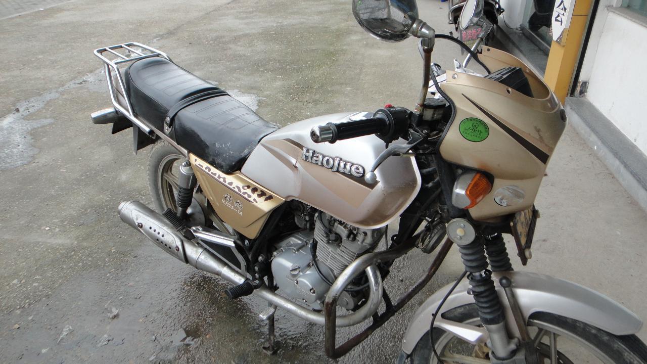 出豪爵钻豹125-a