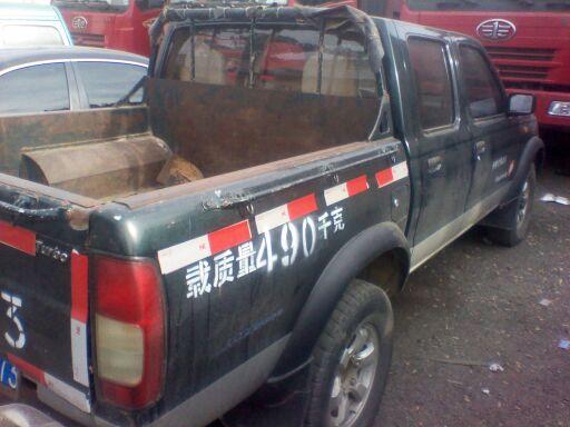 建水当地东风日产四驱皮卡车出售