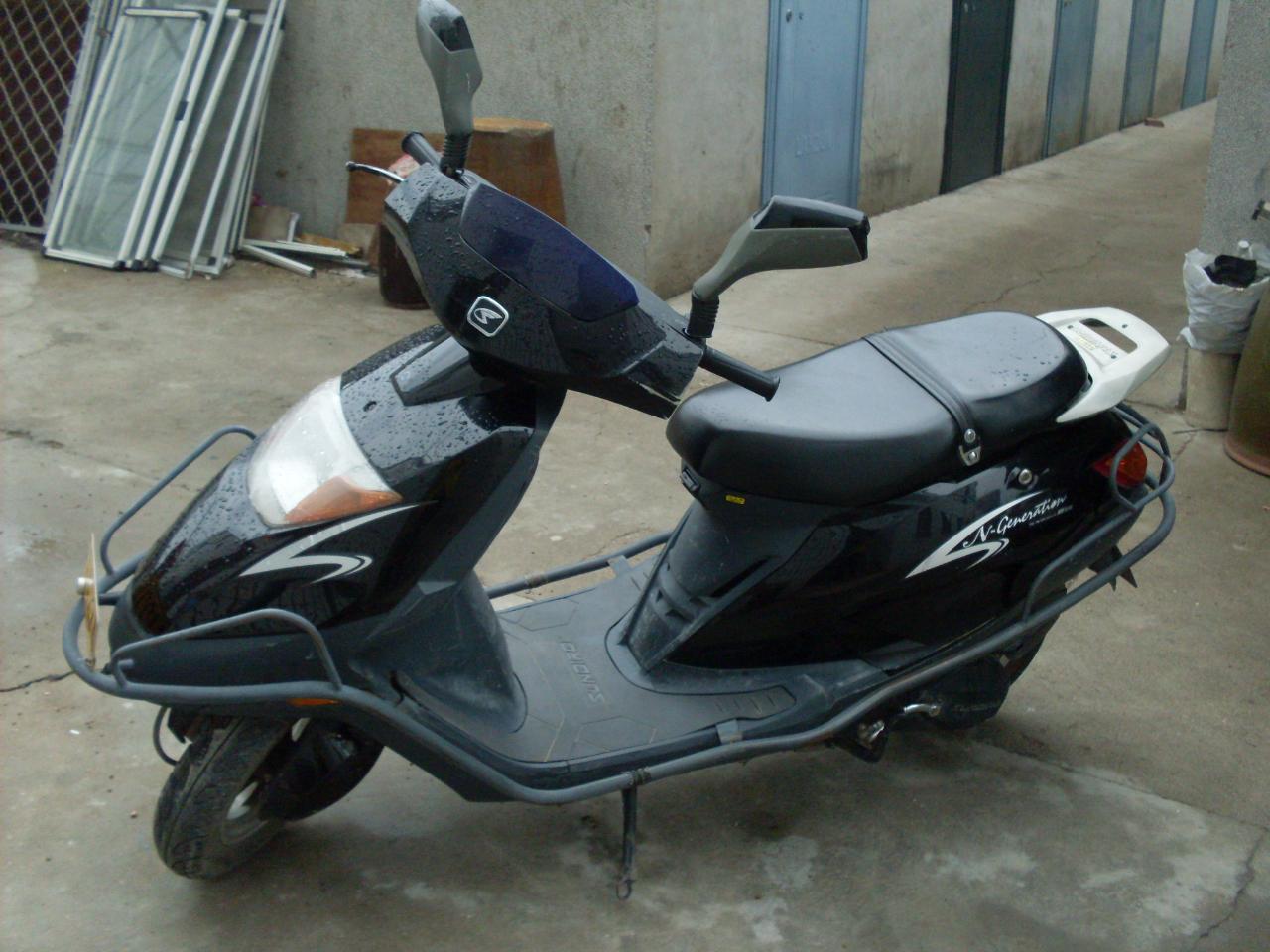 本田125踏板车系列新大洲本田125踏板图片