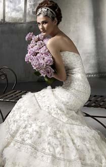 2012年婚纱流行款