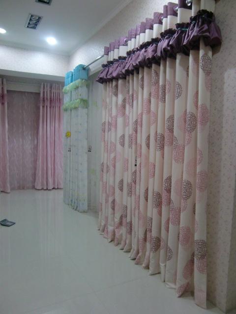 最新新款窗帘布艺图片,中式窗帘布艺效果图,新款客厅窗帘布