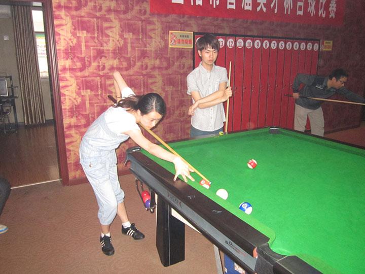 台球女选手 中国台球女选手