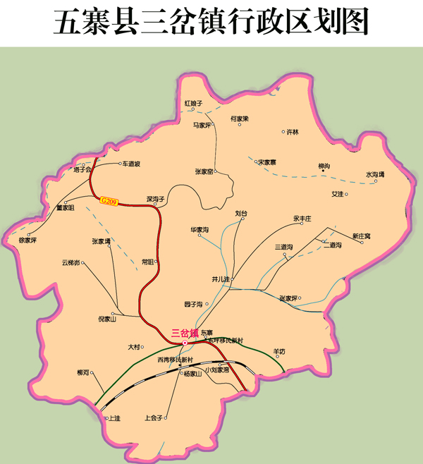 东宋各庄村地图