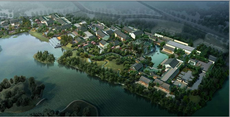 平舆县城市总体规划-平舆上河城