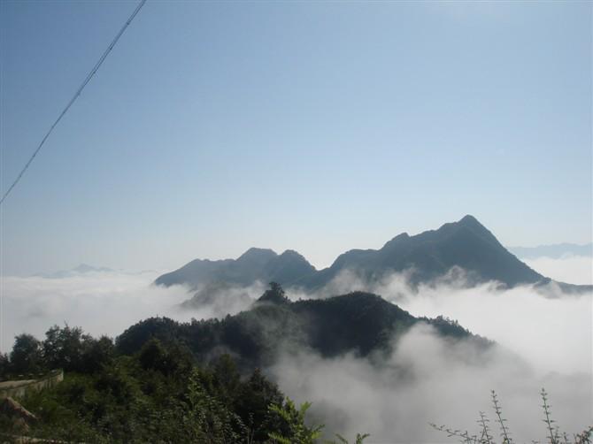 镇安塔云山景区