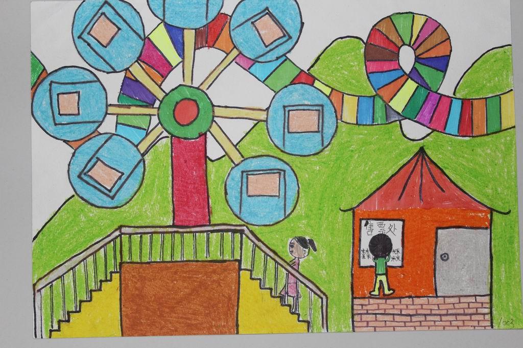 六一儿童节绘画图片 六一儿童节获奖绘画