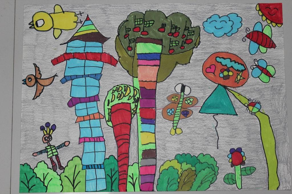 """美丽上杭""""六一""""儿童节绘画比赛"""