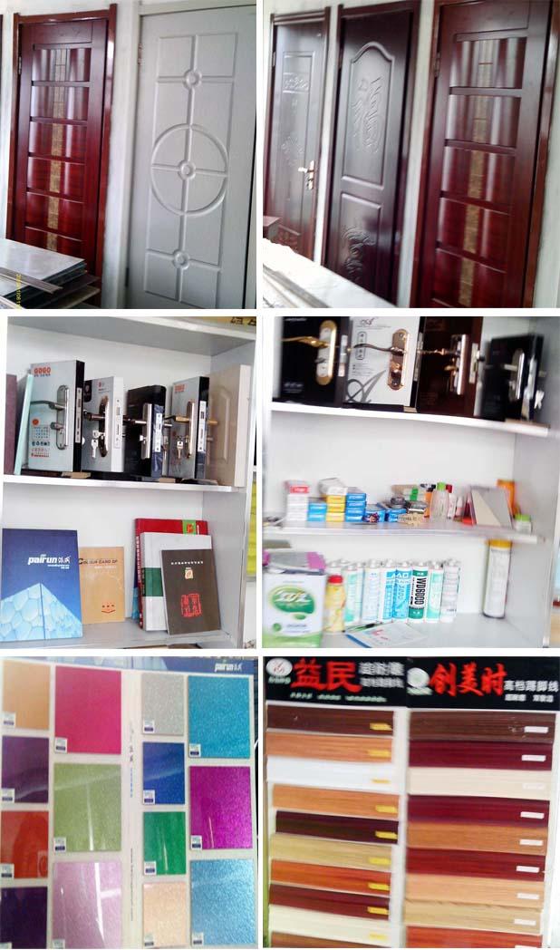 免漆装饰,大板、拼板、门窗套、顶角线、压扣线、踢脚线等一高清图片