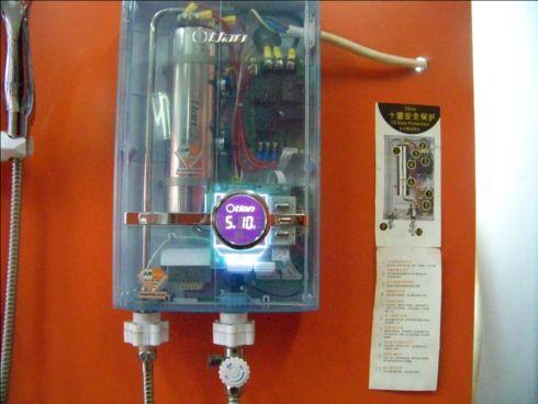 乐亿佳电热水器线路板接线图片