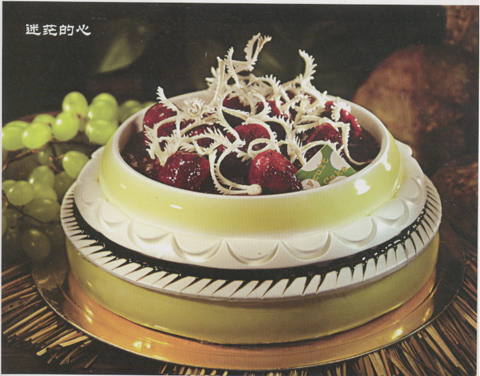 欧式陶艺蛋糕图片