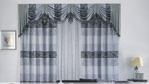 名典窗帘布艺图片