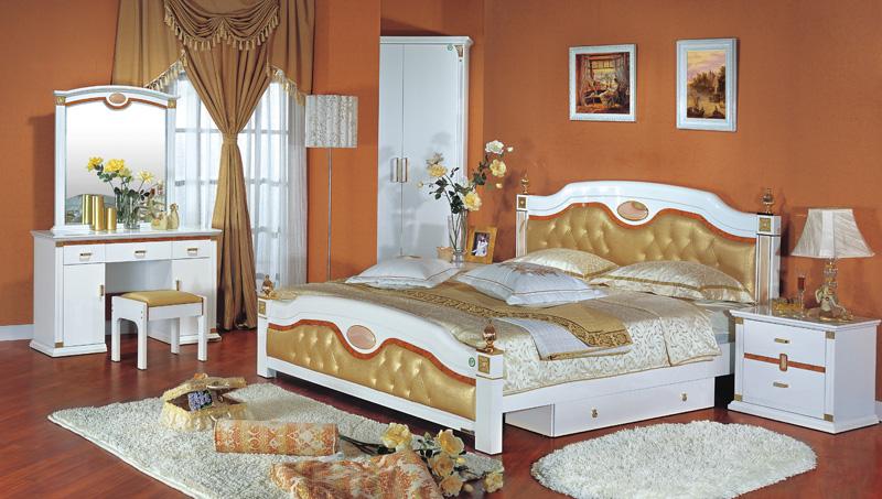 双虎实木床价格图片